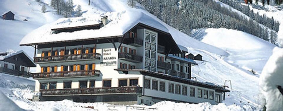 Sport hotel arabba spa hotel benessere arabba veneto for Vista sulla valle cabine colline hocking